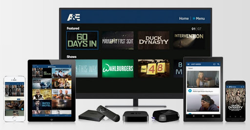Activate AETV on Apple TV, Roku, Android